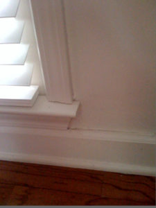 Pests - like termites - can do damage to the inside of your home\e.